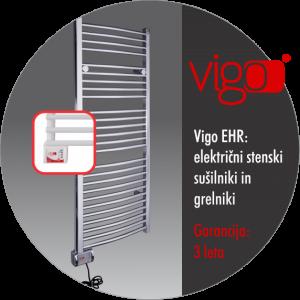 Vigo EHR: Kopalniški grelni in sušilnik