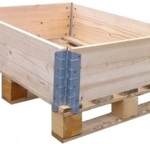 leseni okvirji za palete